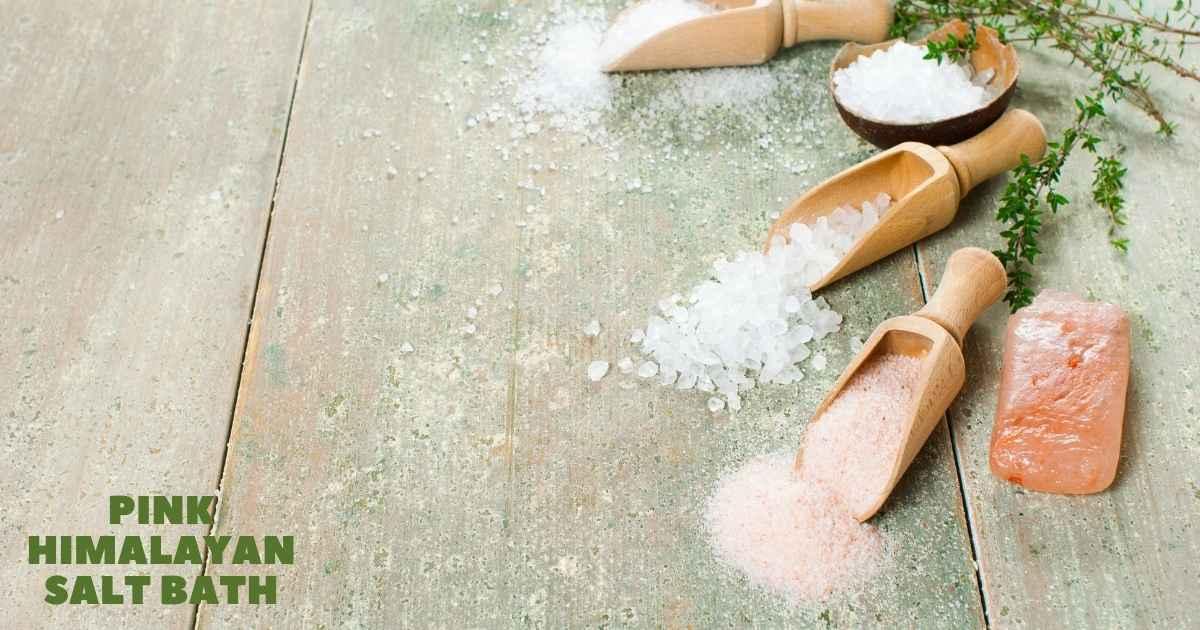 Pink Himalayan Salt Bath